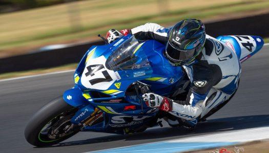 Maxwell fastest at Phillip Island ASBK Test