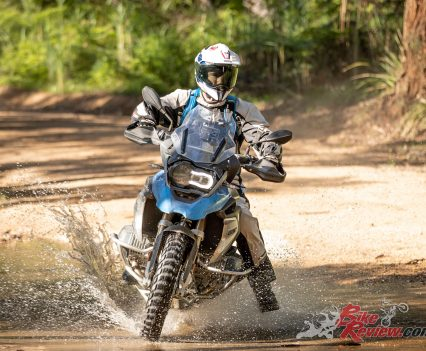 Testing the Shoei Hornet - 2019 BMW R 1250 GS
