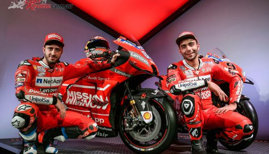 2019 Mission Winnow Ducati team presented at Neuchâtel