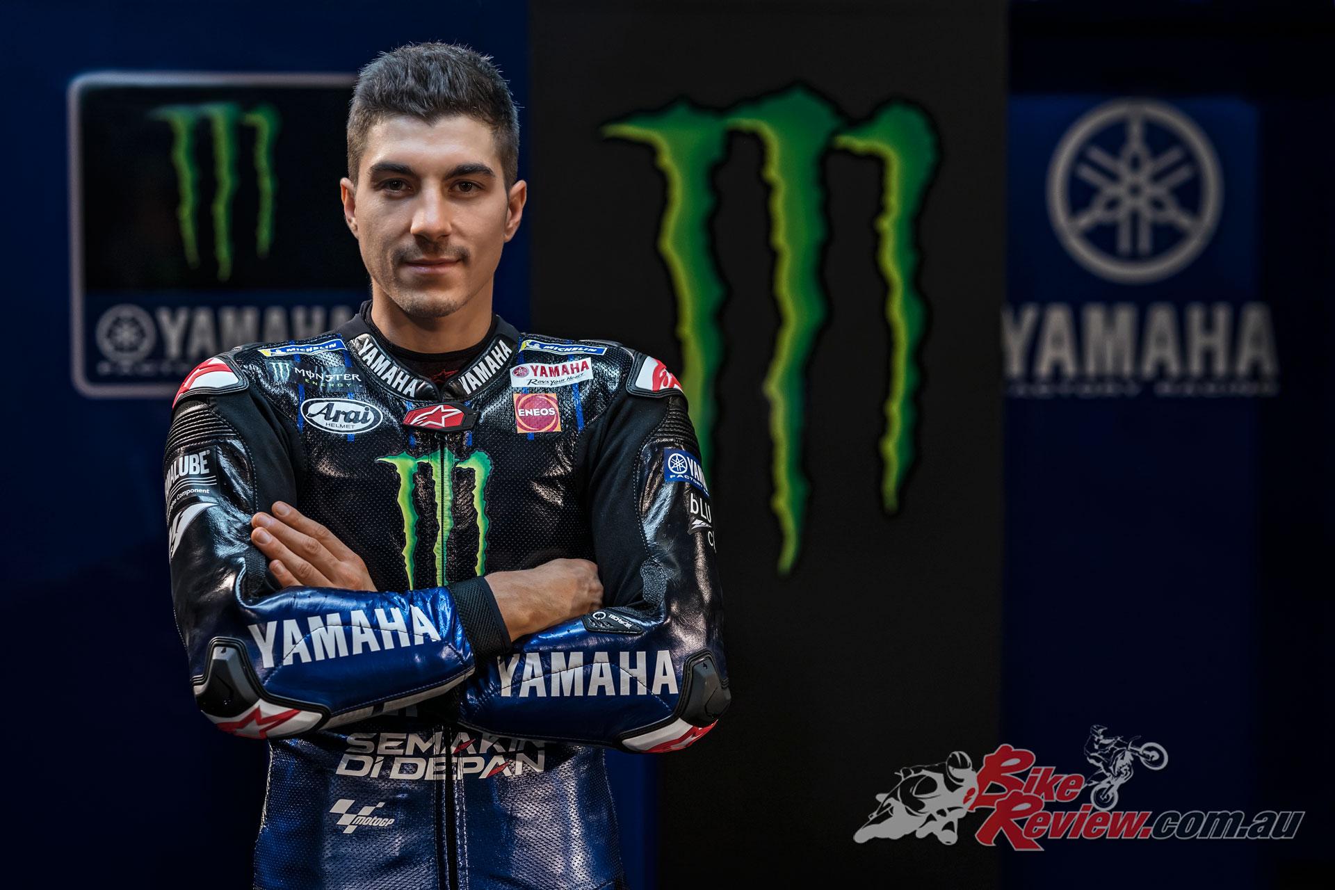 2019 Monster Energy Yamaha MotoGP Team - Maverick Vinales