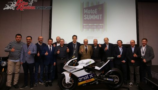 MotoE Summit takes place in Barcelona