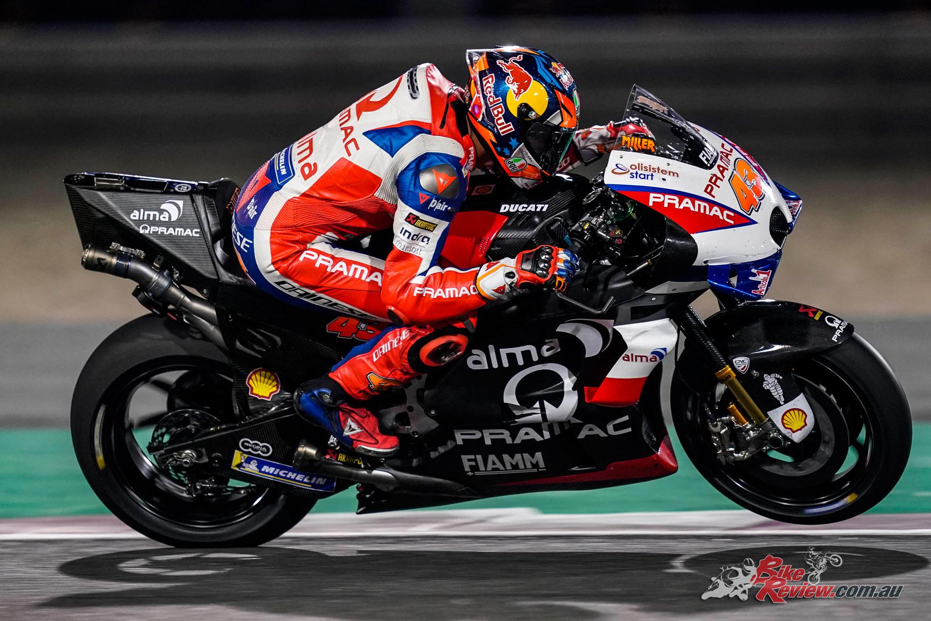 Vinales tops Qatar MotoGP Test - Miller 10th on Day 3 - Bike Review