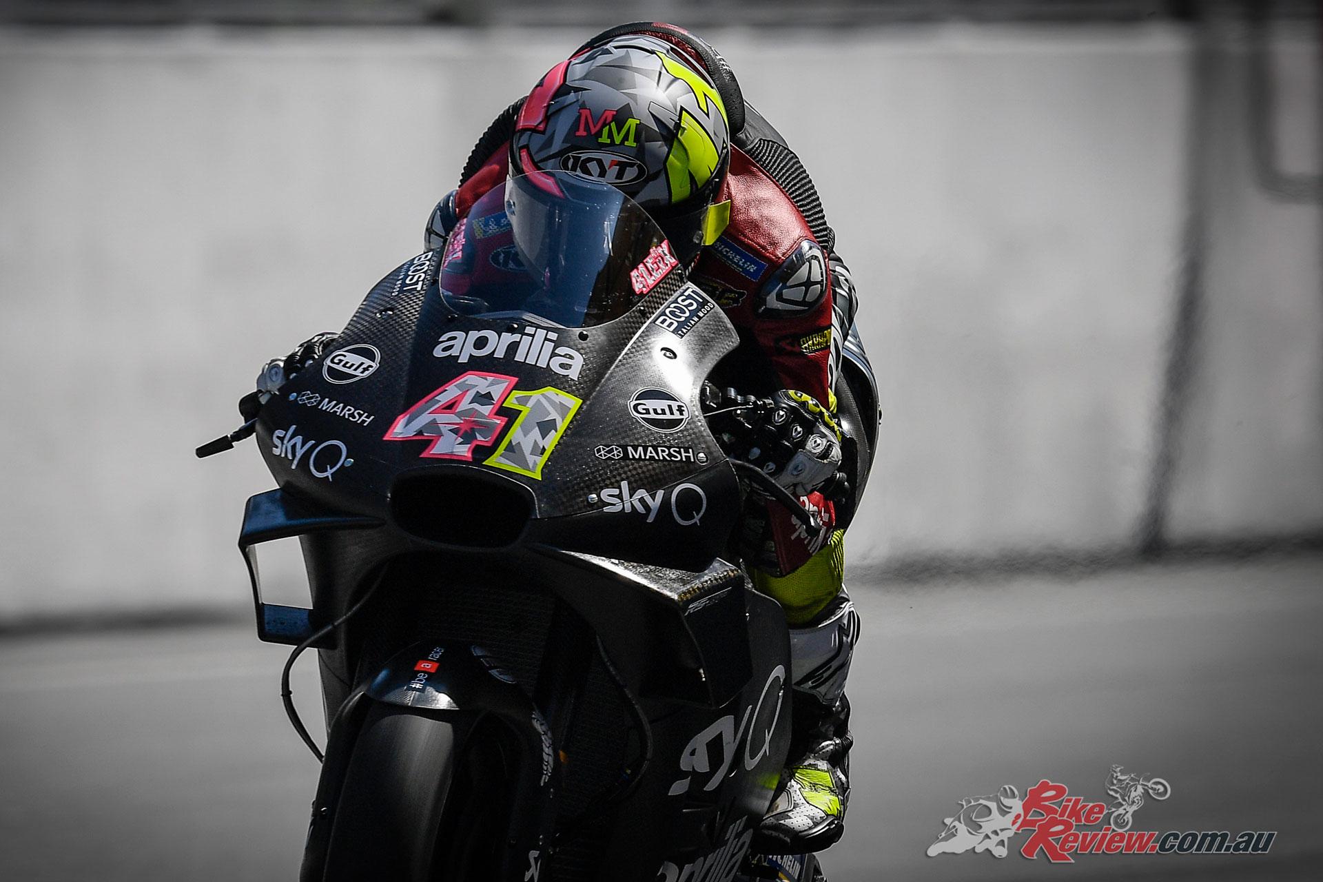 Aleix Espargaro- Sepang MotoGP Test Day 1