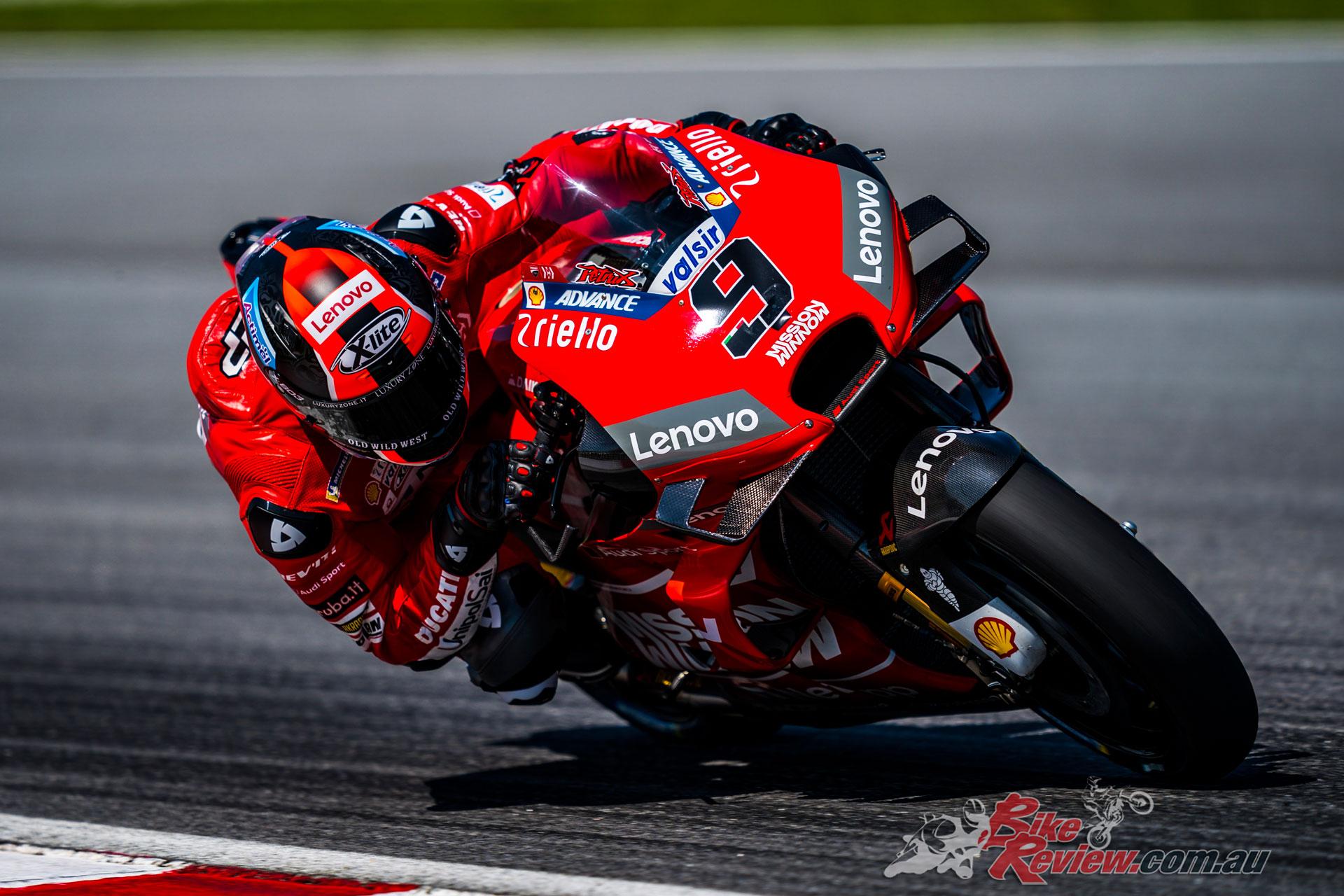 Danilo Petrucci - Sepang MotoGP Test Day 1