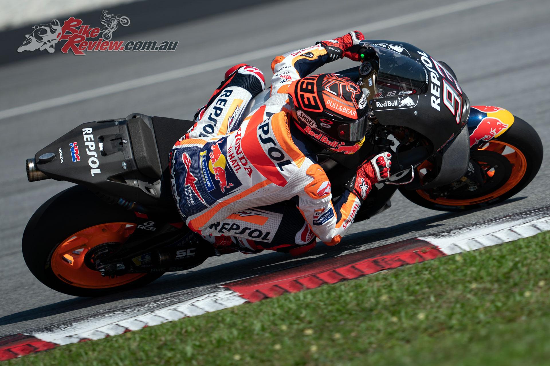 Marc Marquez - Sepang MotoGP Test Day 1