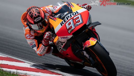 Marquez tops Sepang Test Day 1 – Miller 11th