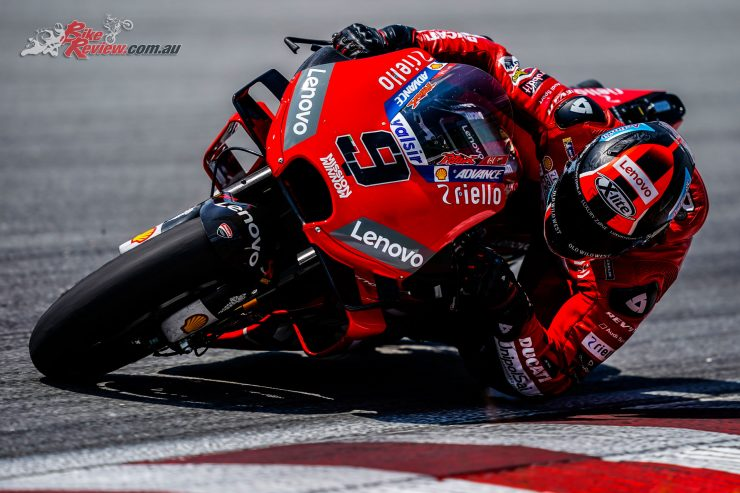Danilo Petrucci tops official Sepang MotoGP Test
