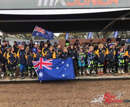 WJMX Team Australia from 2018