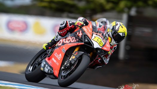 Alvaro Bautista tops Official Phillip Island Test Day 1
