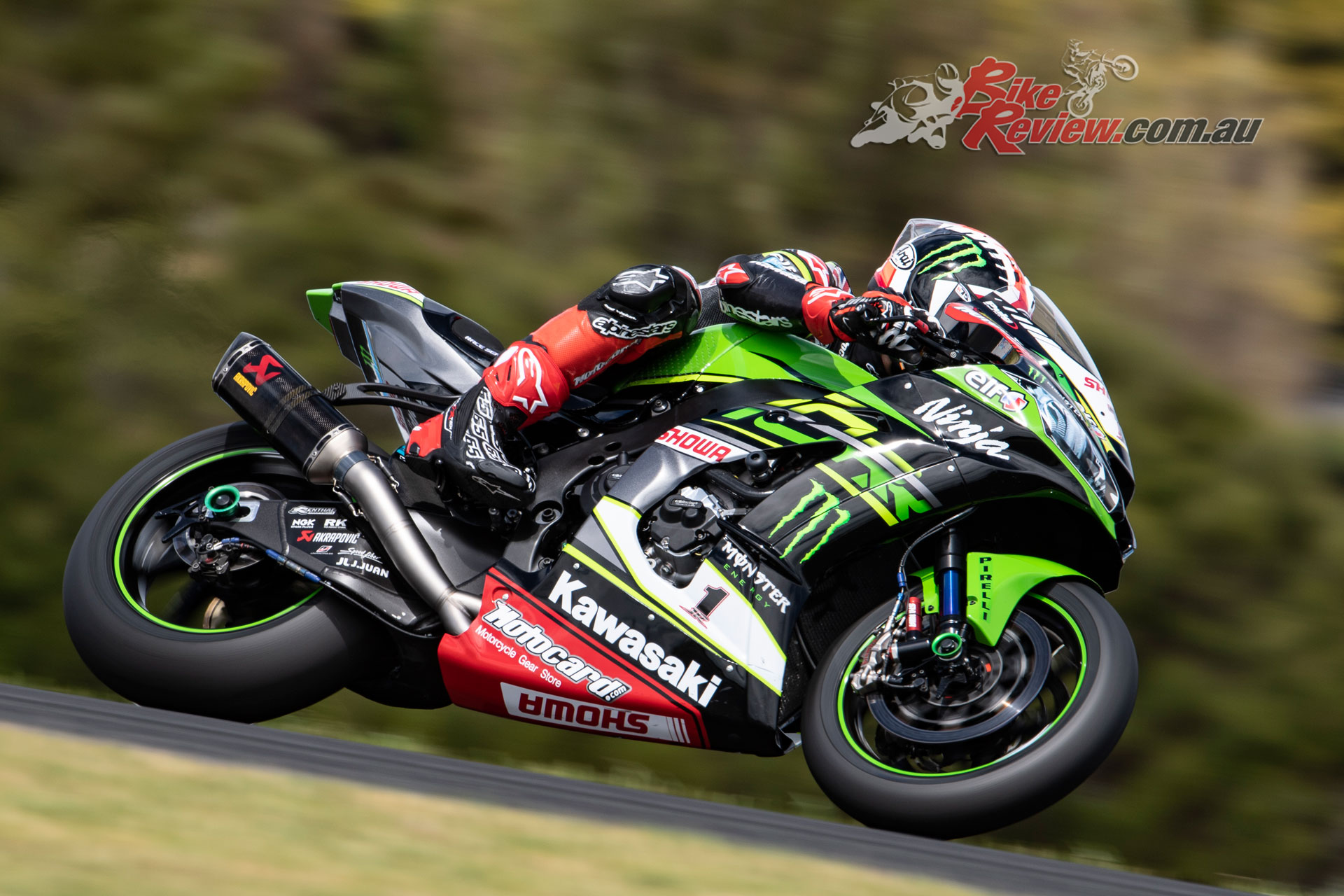 Jonathan Rea - Images by Geebee