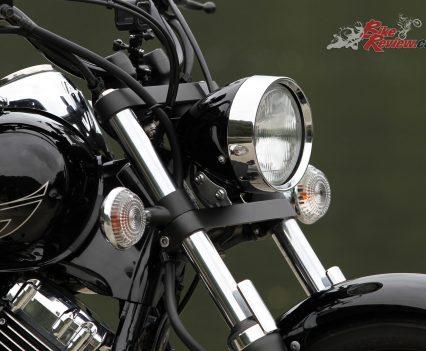 2019 Yamaha V-Star 650 Custom (XVS650) headlight