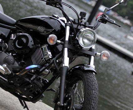 2019 Yamaha V-Star 650 Custom (XVS650) front end