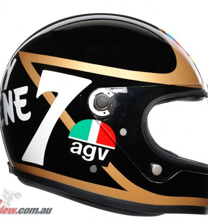 AGV X3000 Helmet - Barry Sheene Limited Edition