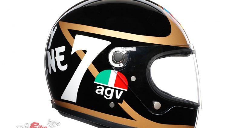 AGV X3000 Helmet - Barry Sheene Limited Edition