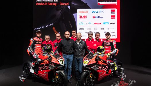 Aruba.it Racing Ducati WorldSBK Team presented