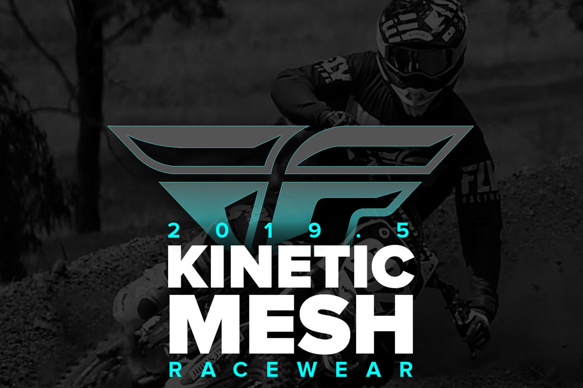 Fly Racing 2019-5 Kinetic Mesh Racewear