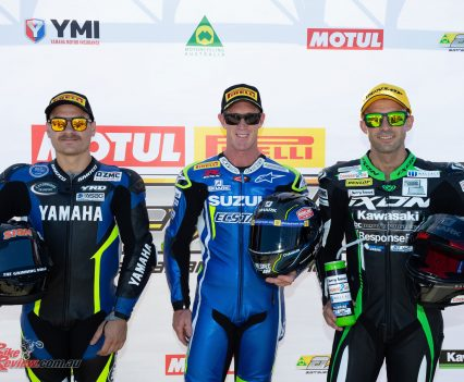 Wayne Maxwell claims ASBK Race 1 win at Phillip Island - Image by TBG