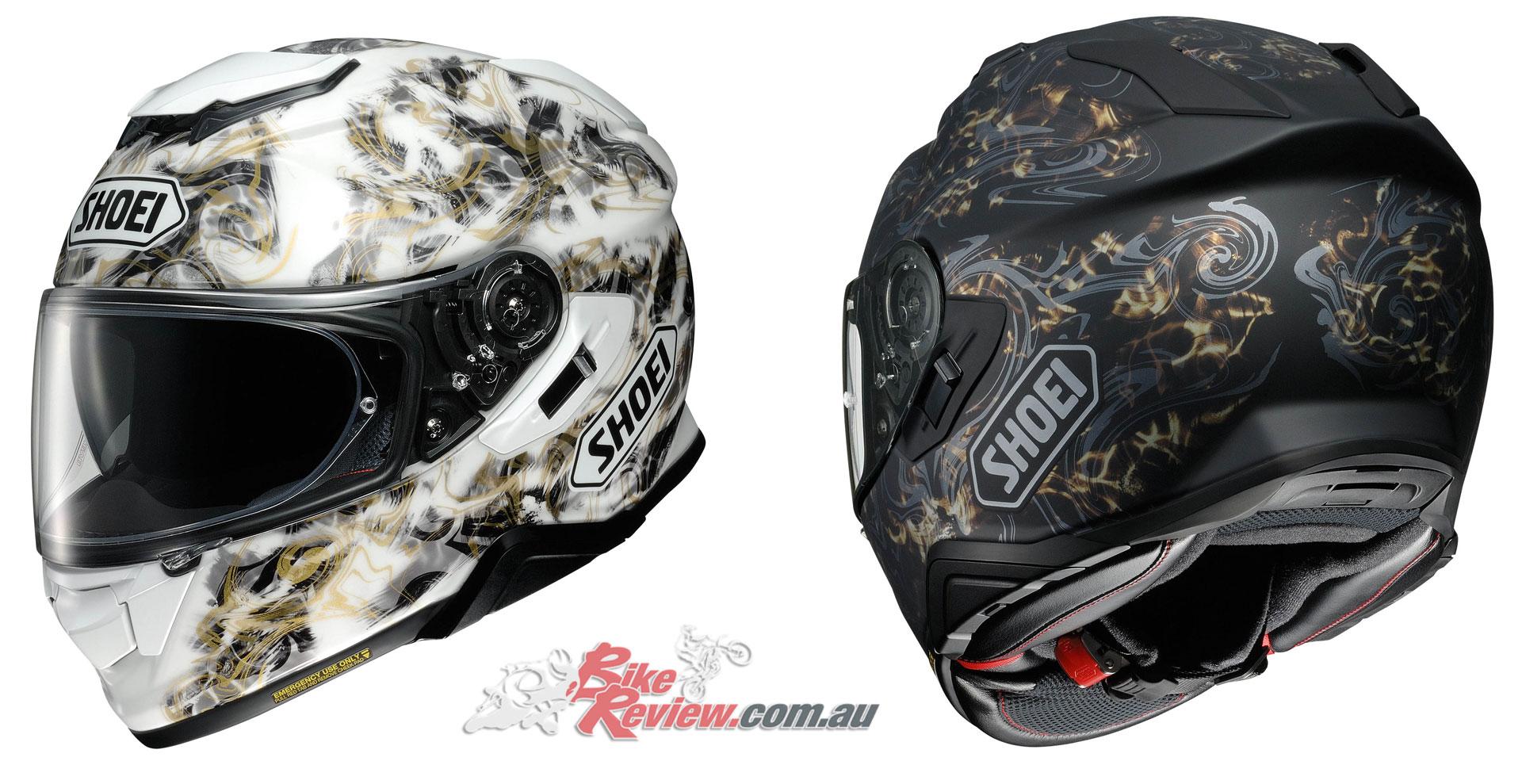 Shoei GT-Air II Helmet - Conjure TC-6 & TC-9