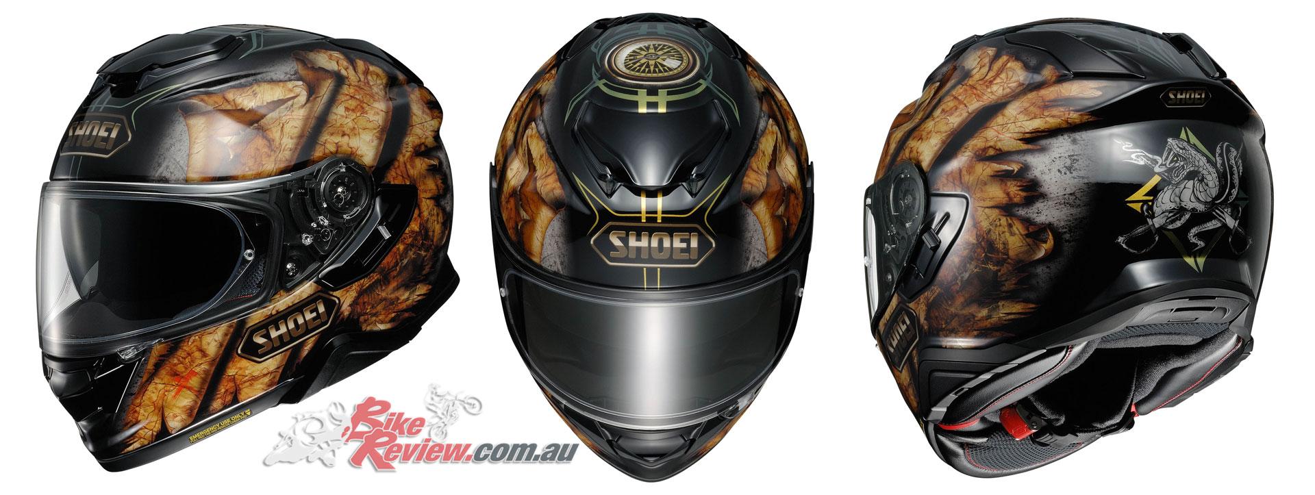 Shoei GT-Air II Helmet - Deviation TC-9