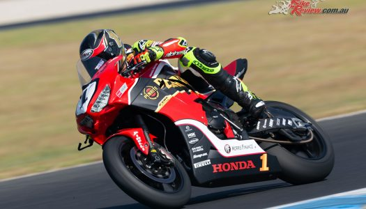 Herfoss tops Friday ASBK practice at Wakefield
