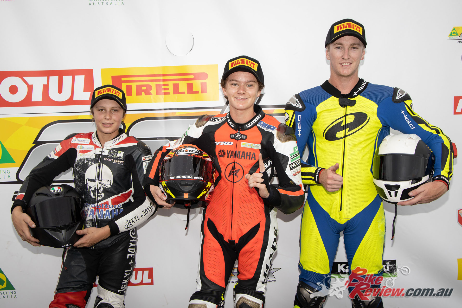R3 Cup Podium - Race 1, Saturday Wakefield Park - Image by TBG