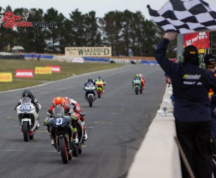 Max Stauffer dominates Saturday at Wakefield Park - Image by TBG
