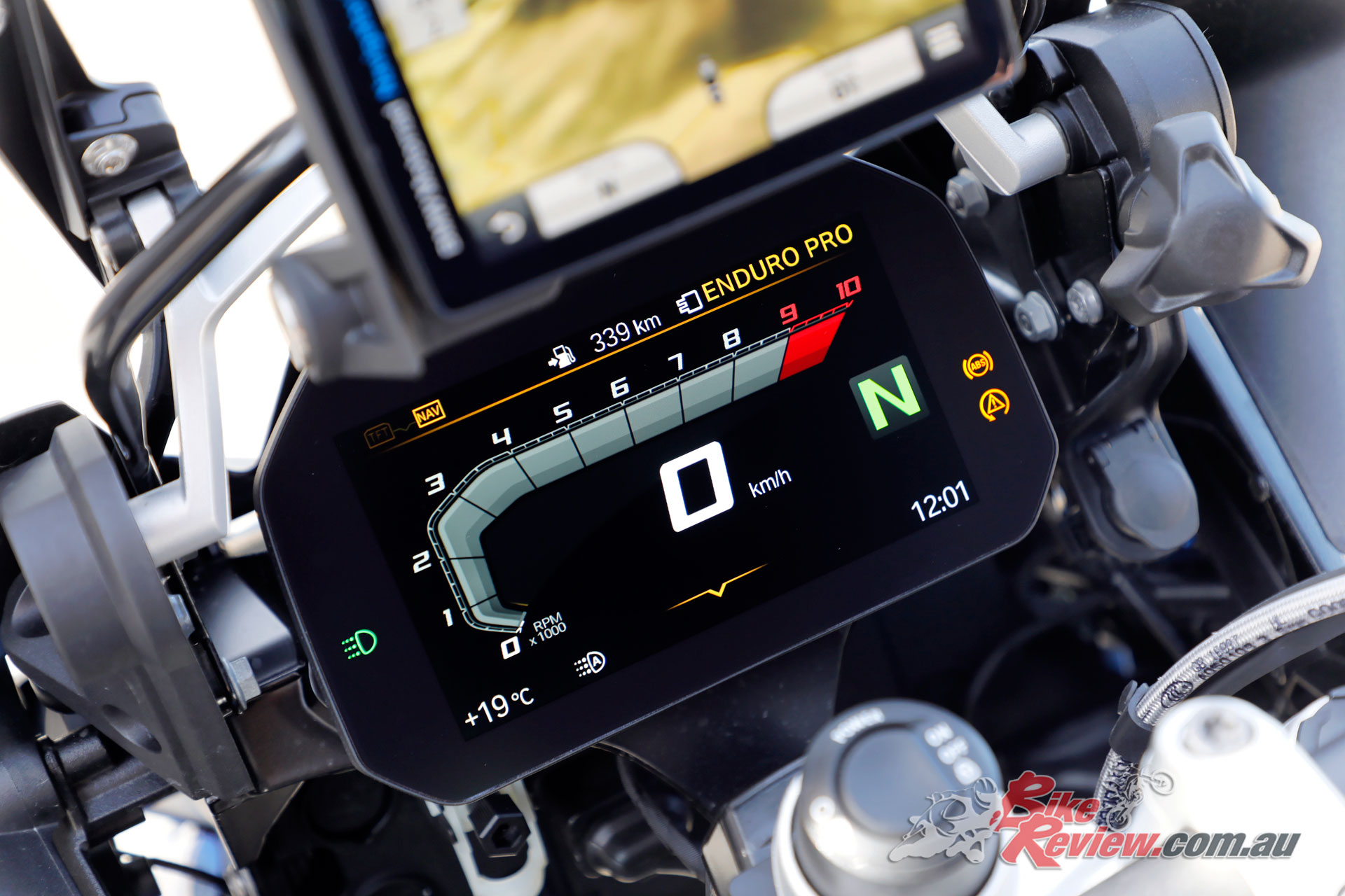 BMW R 1250 GS Adventure dash