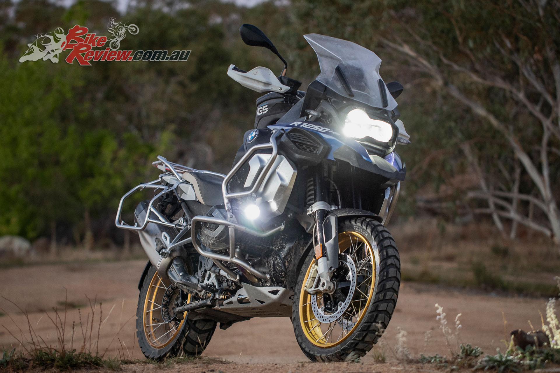 The decked out 2019 BMW R 1250 GS Adventure Rallye X