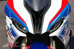 2019 BMW S 1000 RR front profile