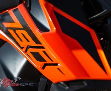 2019 KTM 790 Adventure body panels