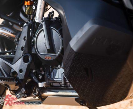 2019 KTM 790 Adventure parallel twin engine
