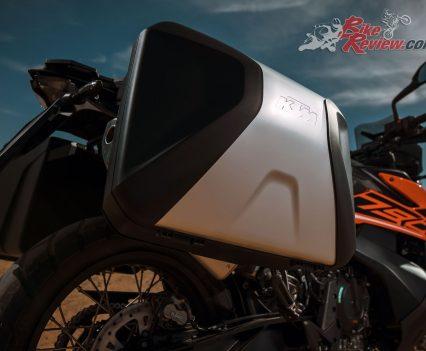 2019 KTM 790 Adventure optional panniers