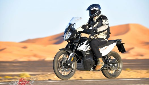 Launch: 2019 KTM 790 Adventure (standard)