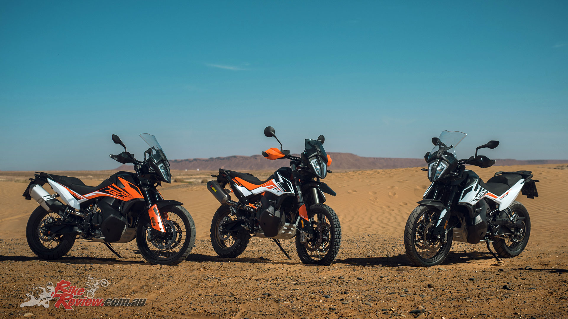 KTM launched their 2019 790 Adventure and 790 Adventure R models in Morroco