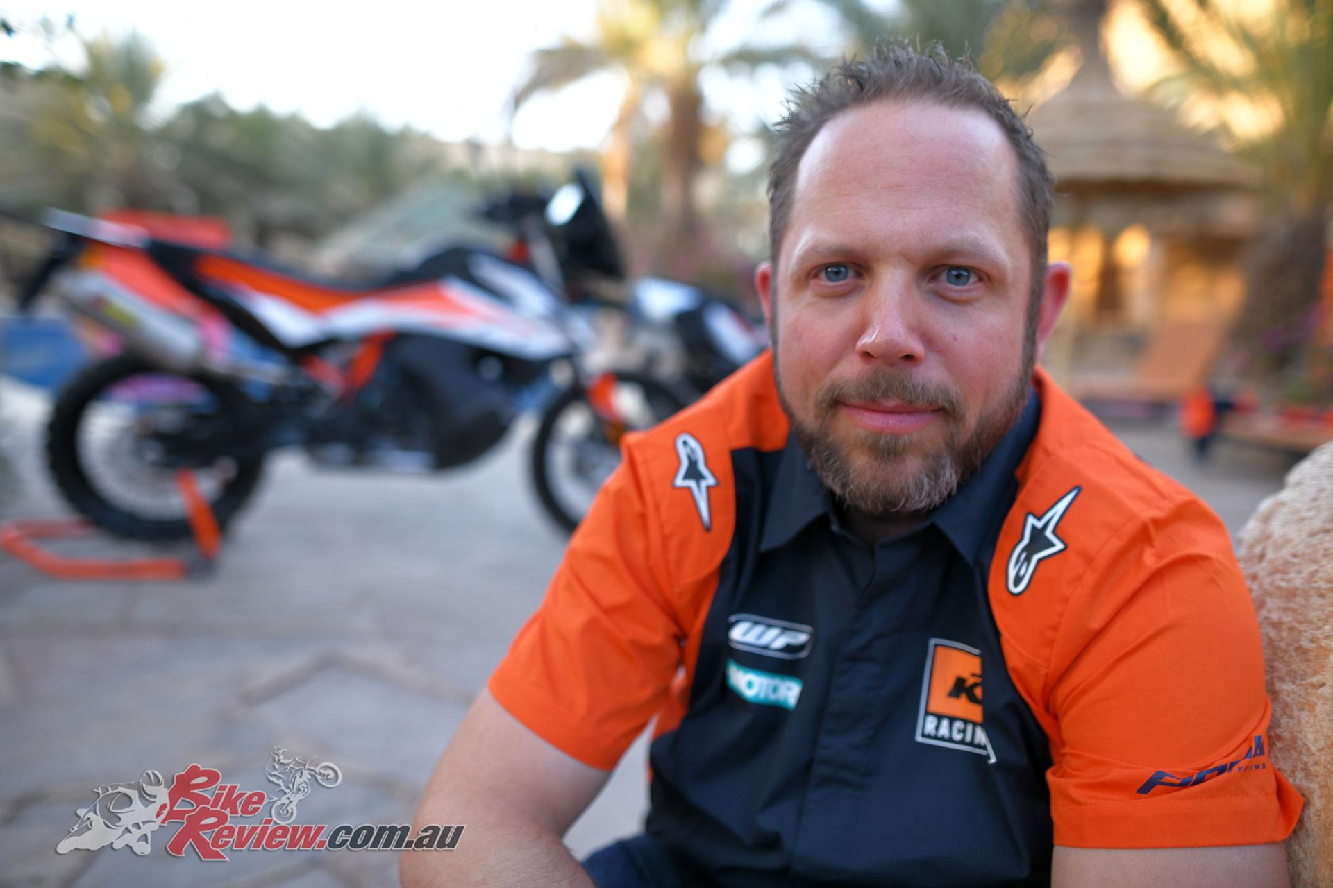 Adriaan Sinke - KTM Senior Product Manager Mid-Capacity