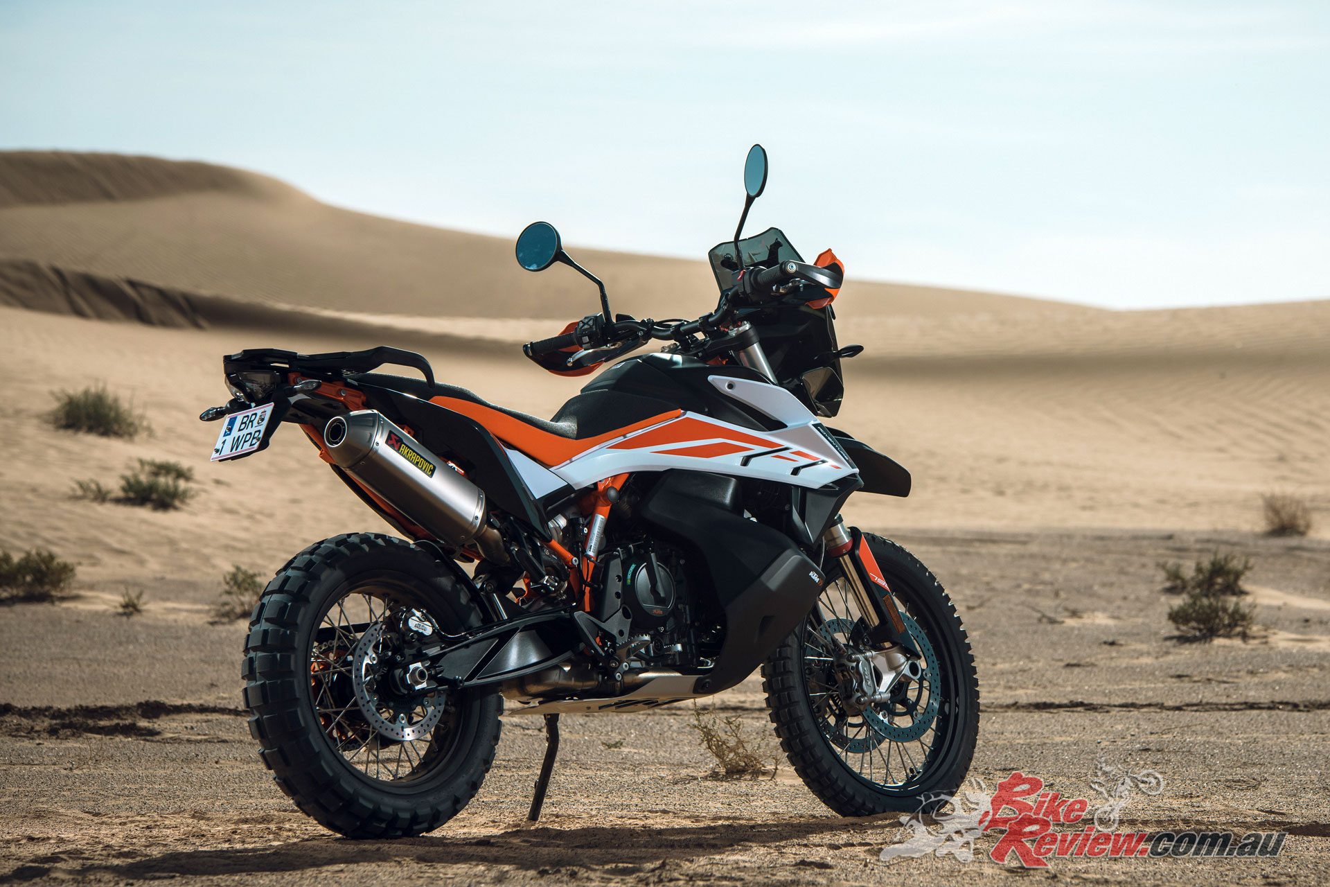 The KTM 790 Adventure R epitomises the hardcore adventure machine