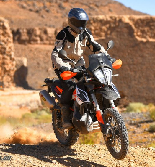 2019 KTM 790 Adventure R World Launch with Roland Brown