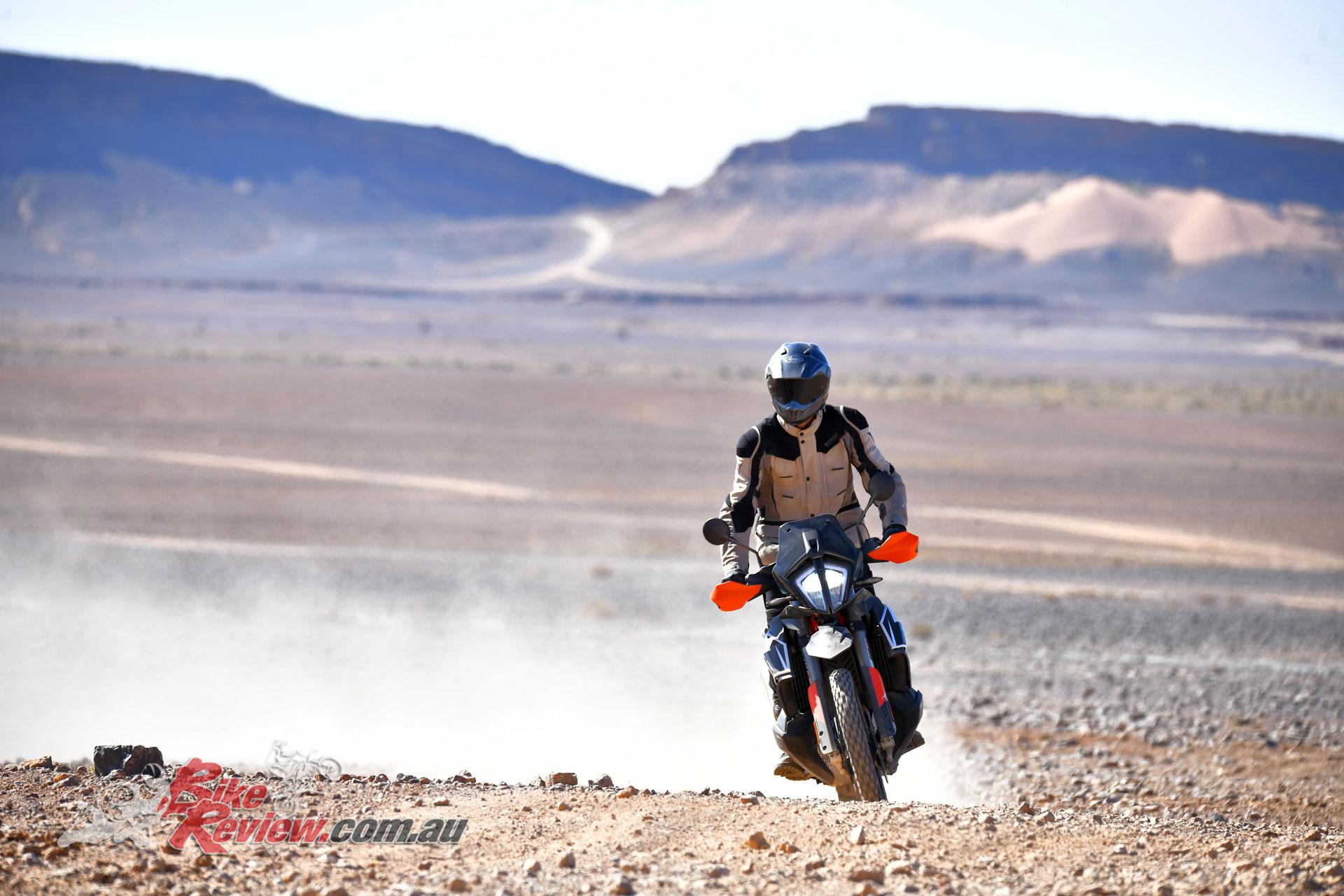 The 2019 KTM 790 Adventure R
