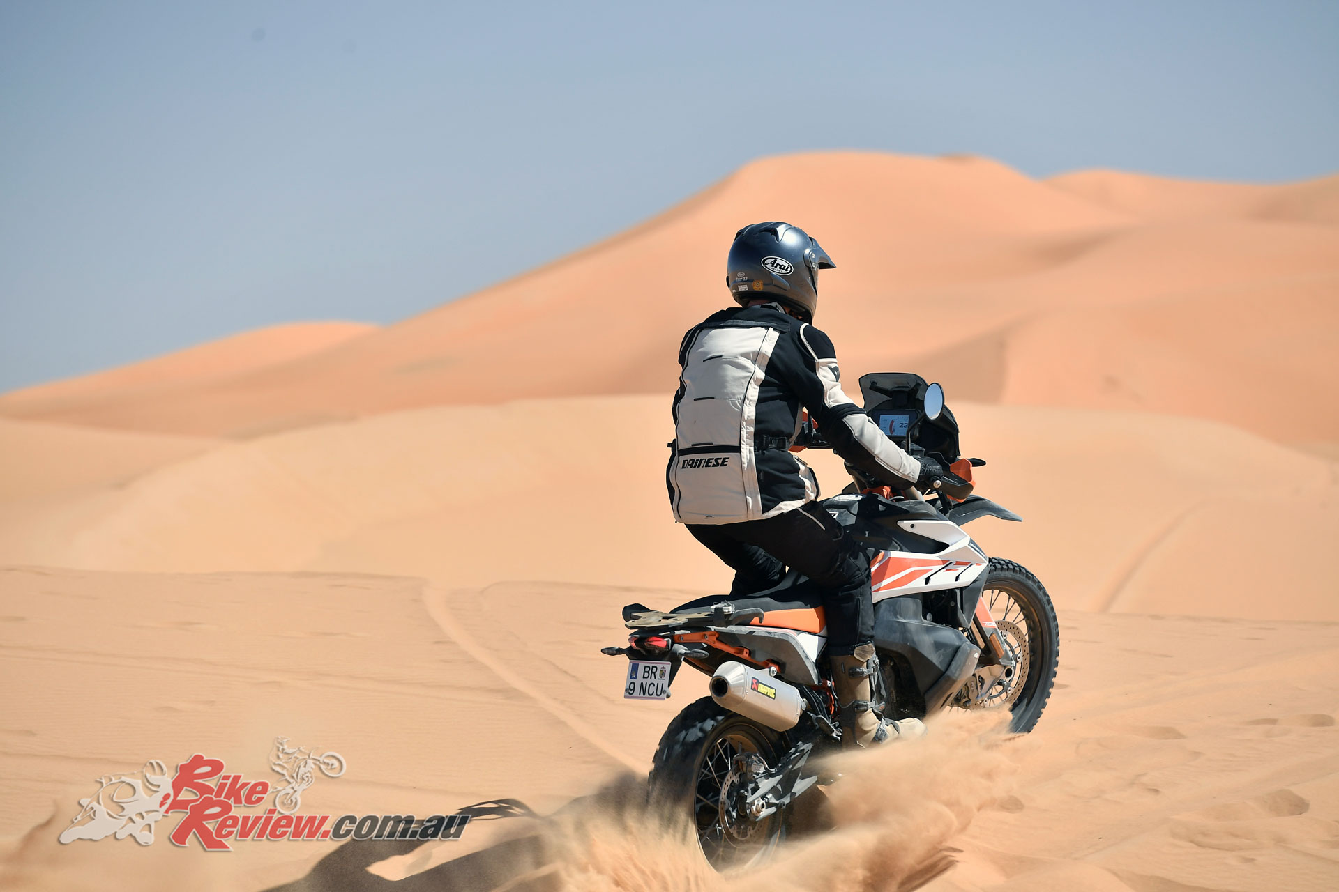 Taking the 790 Adventure R into the dunes in Morocco gives you an idea of how serious KTM are about this model