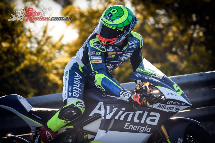 2019 MotoE Test - Eric Granado