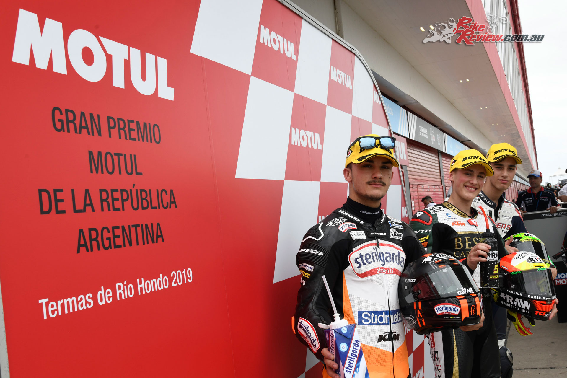 Moto3 Top 3 Qualifiers in Argentina 2019 -
