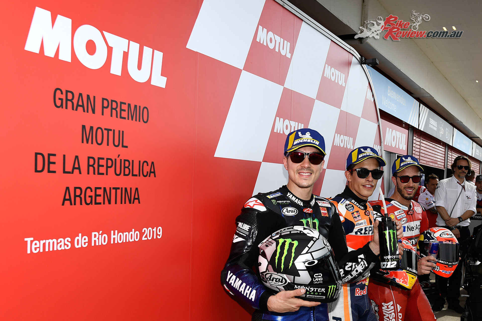 MotoGP Top 3 Qualifiers in Argentina 2019 -