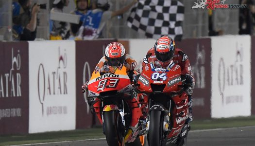 Andrea Dovizioso claims Qatar victory – Jack Miller DNF