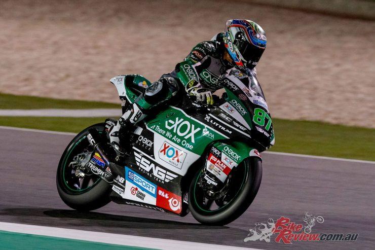 Remy Gardner - - 2019 Qatar Moto2 Test