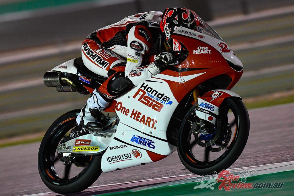 Kaito Toba - 2019 Qatar Moto3 Test