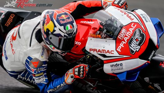 Jack Miller in P2 behind Dovi after FP2 in Argentina