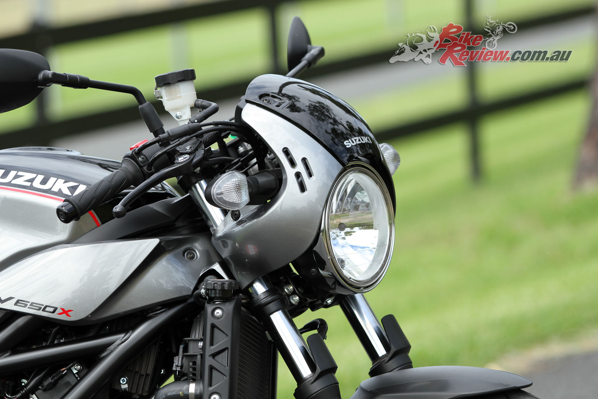 Video Review Full Power 2018 Sv650x Cafe Racer Bike Review