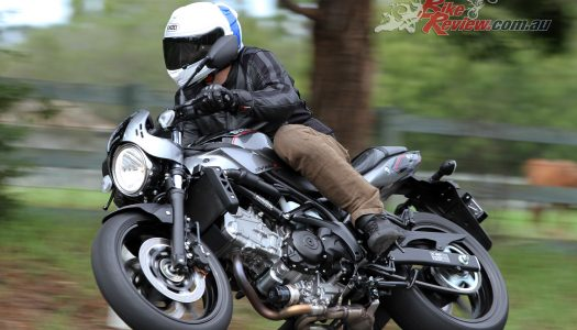 Video Review: Full power 2018 SV650X Cafe Racer