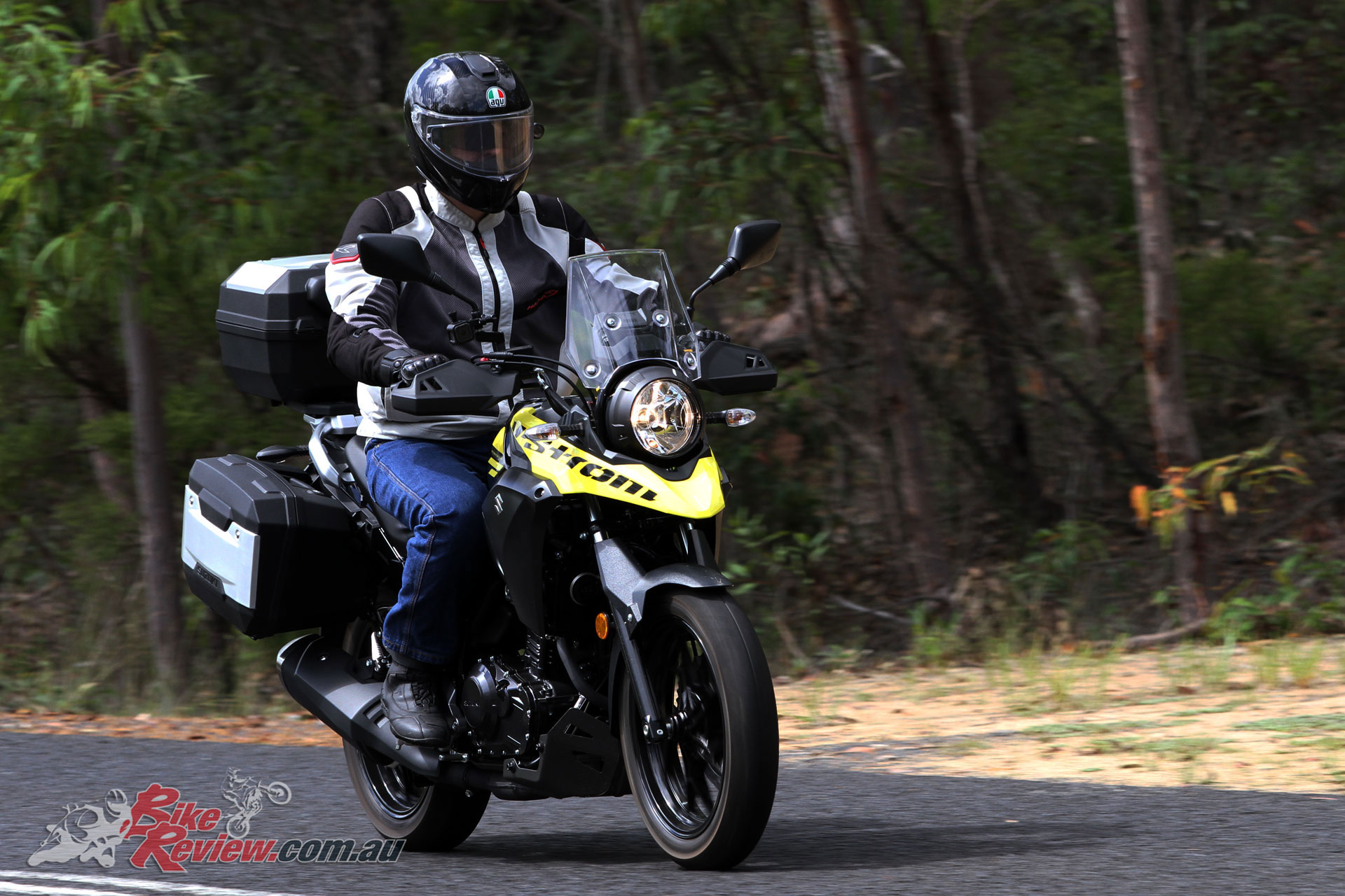 The V-Strom 250 is a real winner when it comes to offering an ideal beginner package