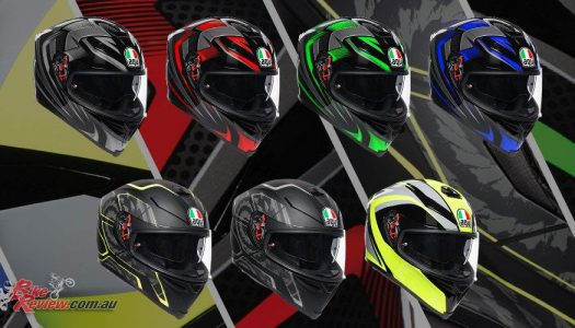 New 2019 AGV K-5 S graphics announced